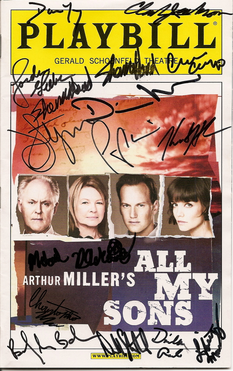 John Lithgow, Patrick Wilson (with Dianne Wiest, Katie Holmes, and